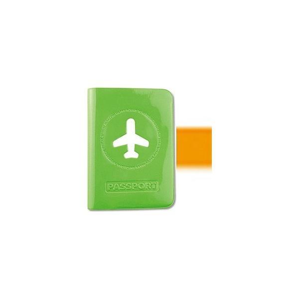 スタジオエヌ ALIFE ハッピーフライト パスポートカバー SNCF-012-2 オレンジ