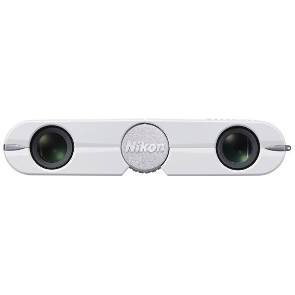 ニコン(Nikon) 双眼鏡 遊 4×10D CF ホワイト