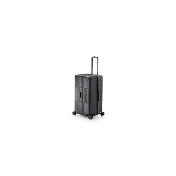 ディパーチャー TSAロック搭載スーツケース ハードキャリー HD-510-27 レザーマットブラック [80 L]