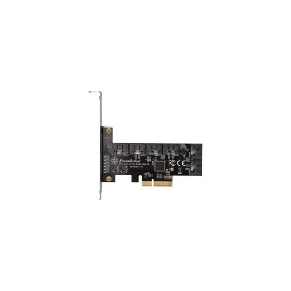 Silver Stone インターフェースカード SATAx6ポート[PCI-Express]