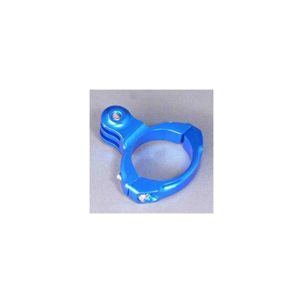 Gobros.(ゴブロス) 31.8mmハンドルバー・クランプマウント -Standard ブルー GB0106