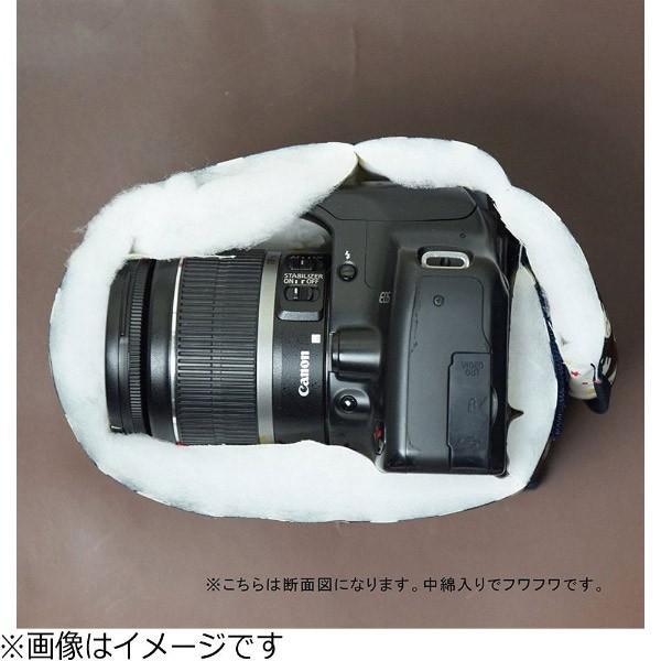 ミーナ ミーナ カメラのお洋服/スリム+2.5cm幅カメラストラップ 80017-216 ナチュラルベーシックボーダー