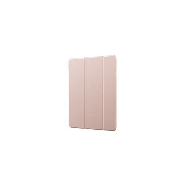 MSソリューションズ 10.2インチ iPad(第7世代)用 背面クリアフラップケース Clear Note LP-ITM19CNTPK ピンク