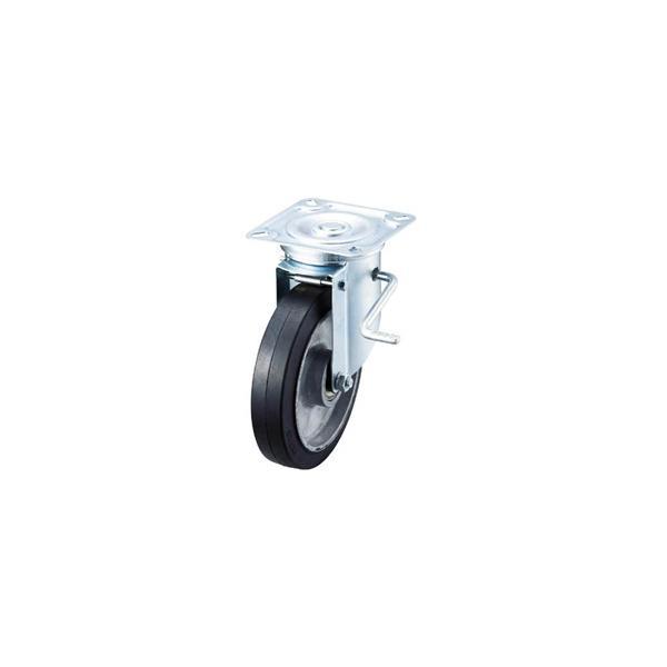 ワコーパレット エアーキャスターイノアック牽引台車用(自在車ストッパー付) ASHG200AWDS