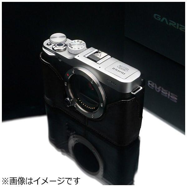 GARIZ 本革カメラケース 【FUJIFILM X-M1用】(ブラック) HG-XM1BK