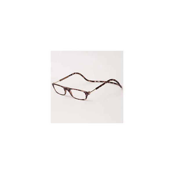 名古屋眼鏡 クリックリーダー マットタイプ(マットブラウン/+1.50)