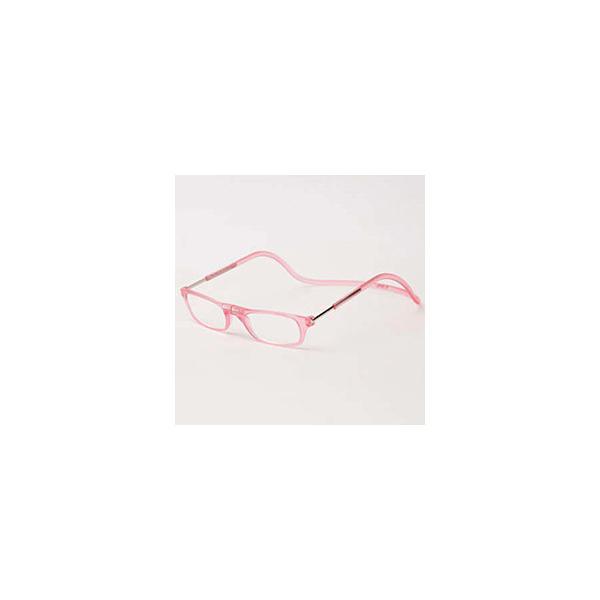 名古屋眼鏡 クリックリーダー マットタイプ(マットピンク/+3.50)