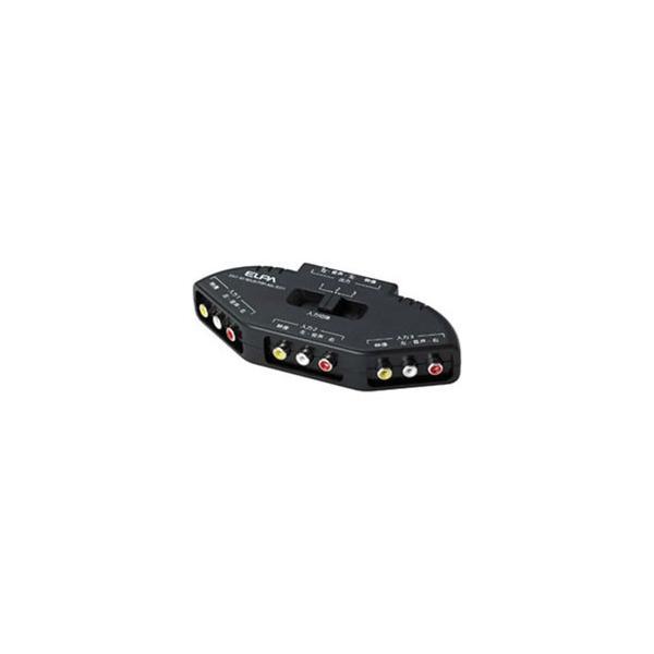 ELPA(エルパ) AVセレクター(ピン端子対応モデル 3入力-1出力) ASL-E311