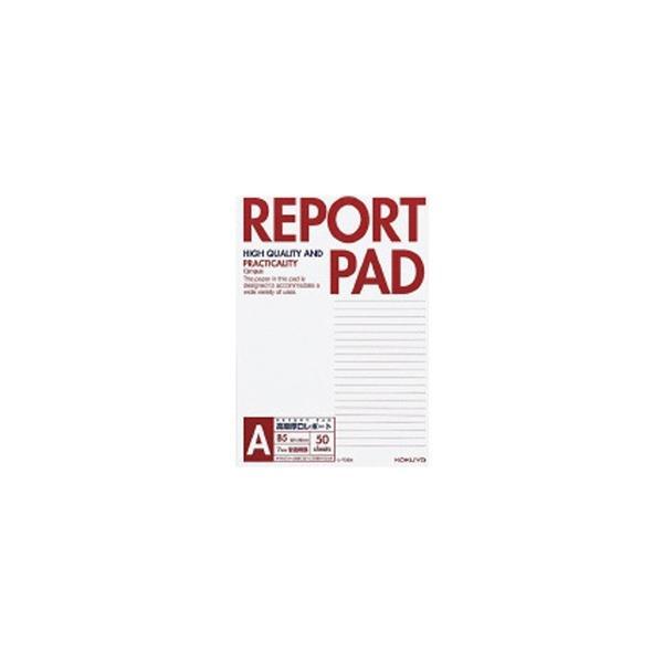 コクヨ [レポート用紙] レポートパッド 表紙巻き (A罫 B5 50枚) レ-735A