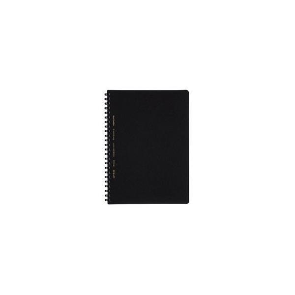 コクヨ [ノート]ソフトリングノート ビジネステイスト (A5・方眼罫・70枚 )スSV437S5D 黒