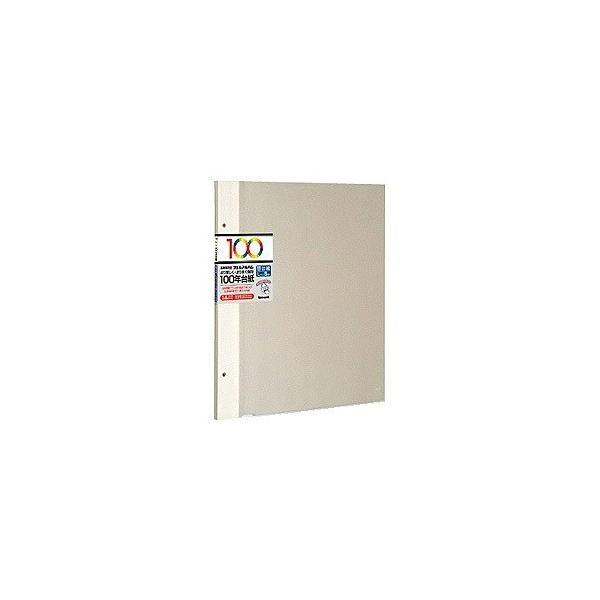 ナカバヤシ アH-LFR-5-V 100年台紙 Lサイズ5枚入り(アイボリー)の画像