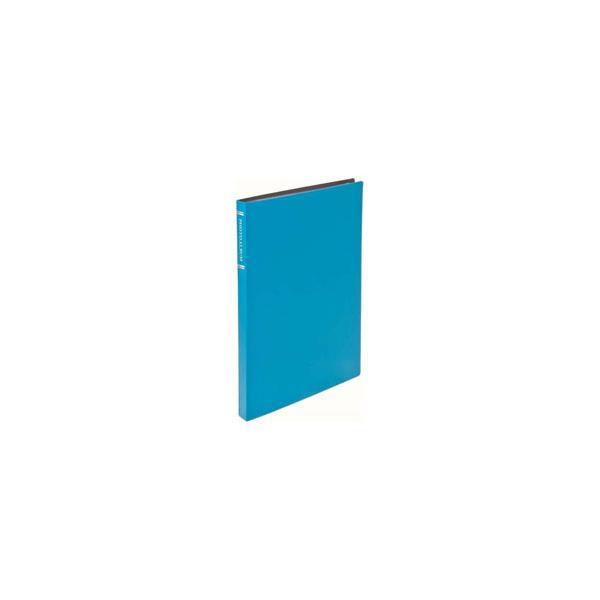 ナカバヤシ CTPKG-80-BU 超透明ポケットアルバム KG判(はがき) 88枚 ブルーの画像