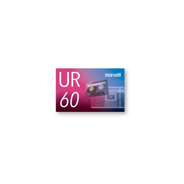 maxell オーディオカセットテープ60分1巻 UR-60N