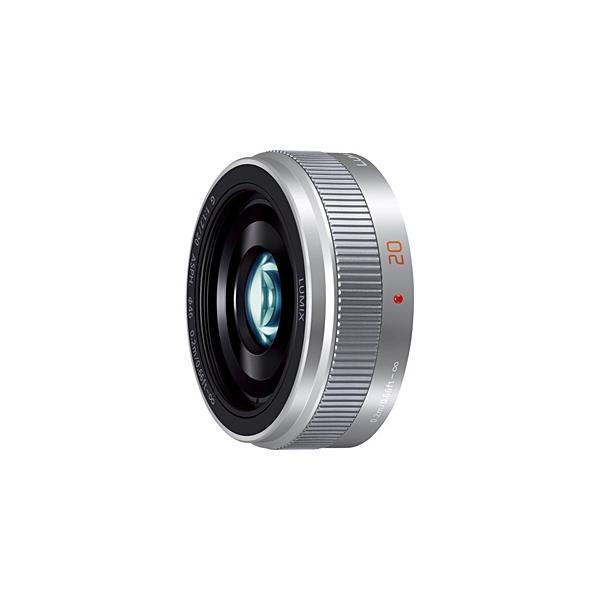 パナソニック(Panasonic) カメラレンズ LUMIX G 20mm/F1.7 II ASPH.【マイクロフォーサーズマウント】(シルバー)