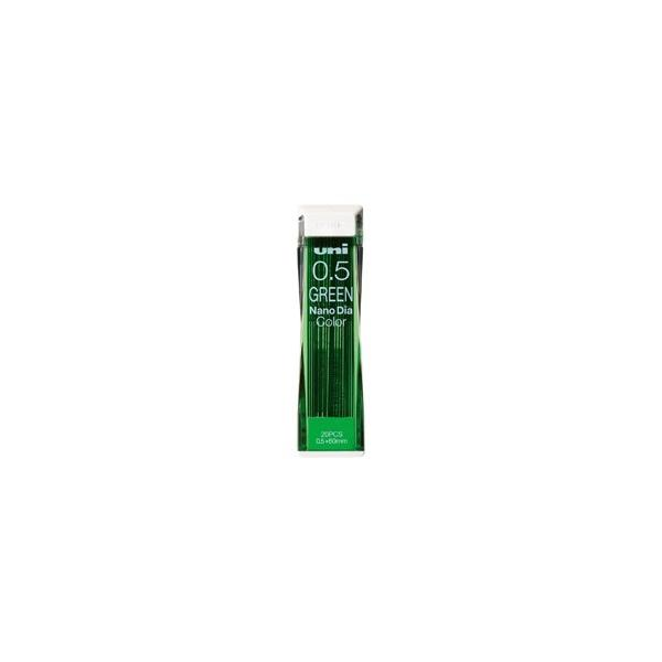 三菱えんぴつ ナノダイヤ05カラー芯 グリーン U05202NDC.6 グリーン