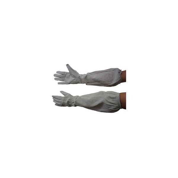 中部物産貿易 ホーケン 肘まで長~い革手袋 M 55698