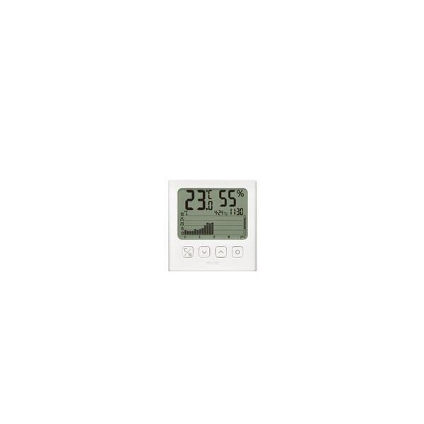 【在庫限り】 タニタ グラフ付きデジタル温湿度計 TT580WH [振込不可]