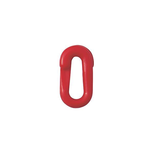 日本緑十字 緑十字 プラスチックチェーン用ジョイント 赤 20×39.5(線径6Φ) 2個組   284144