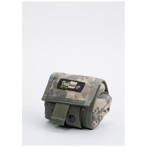 レンズコート ロールアップモールポーチ Sサイズ(デジタル・アーミーカモ) LCRUSMDC