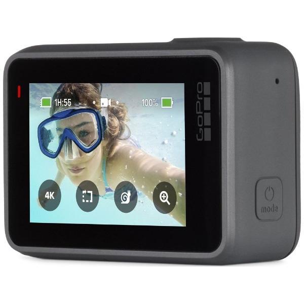 GOPRO マイクロSD対応 4Kムービー ウェアラブルカメラ GoPro(ゴープロ) HERO7 シルバー CHDHC-601-FW
