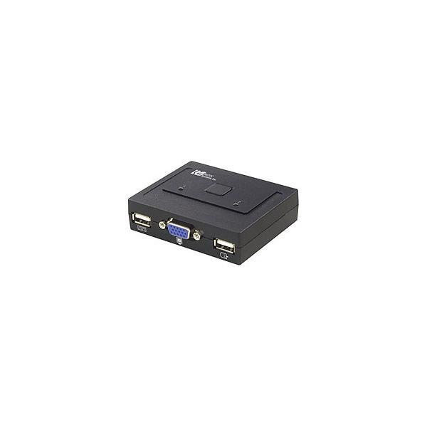 RATOC(ラトックシステム) パソコン自動切替器 USB接続(2台用) REX-230U