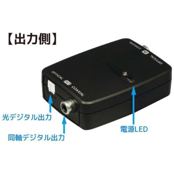 ラトックシステム 光デジタル⇔同軸デジタル 双方向変換アダプター RS-OPTXCOA2