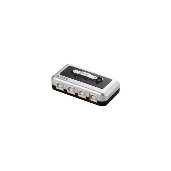 ELECOM(エレコム) U2SW-T4 (USB切替器/手動/4ポート)