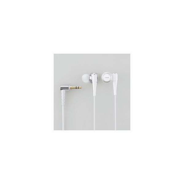 エレコム 【ハイレゾ音源対応】 カナル型イヤホン(ホワイト) EHP-CH2010AWH