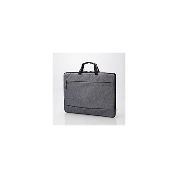エレコム PCインナーバッグ[15.6インチ]カジュアル (グレー) BM-IBCH15GY [ノートパソコン ケース バッグ]