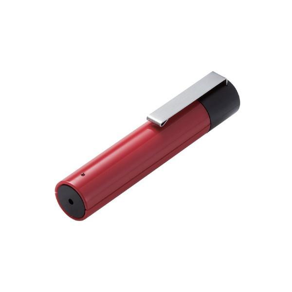 エレコム(ELECOM) 赤色レーザーポインター プレゼンター機能無し ボタンレス ELP-RL12RD レッド