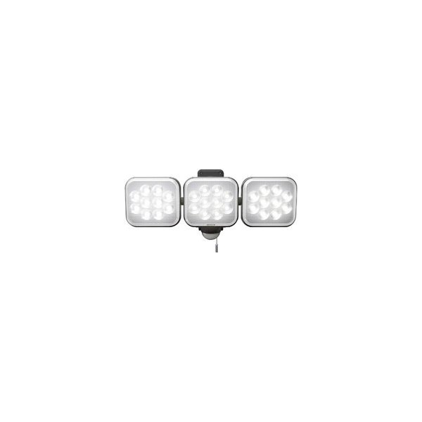 ライテックス 12W×3灯フリーアーム式LEDセンサーライト
