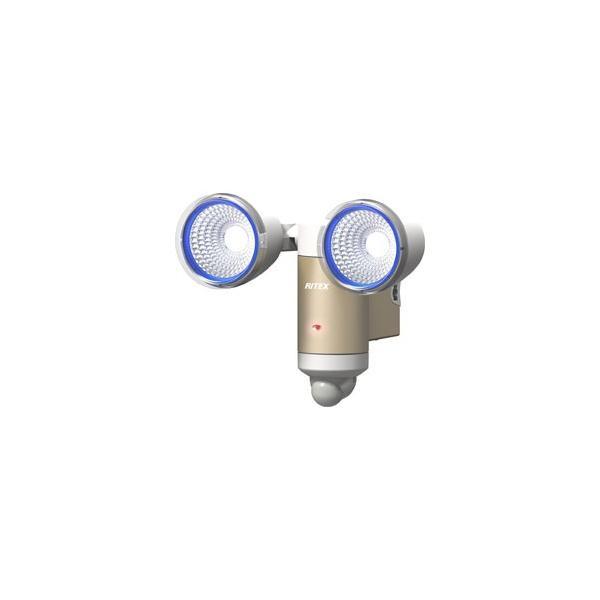ライテックス 3W×2灯LEDソーラーセンサーライト CSC60