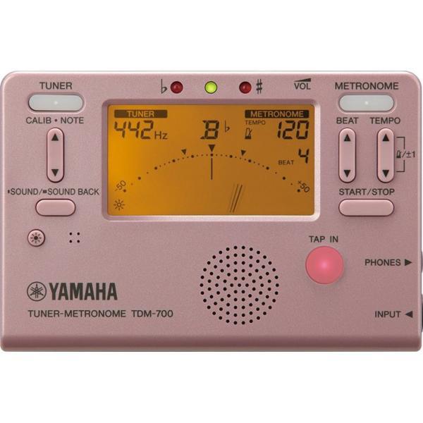 YAMAHA(ヤマハ) チューナー・メトロノーム TDM-700P ピンク