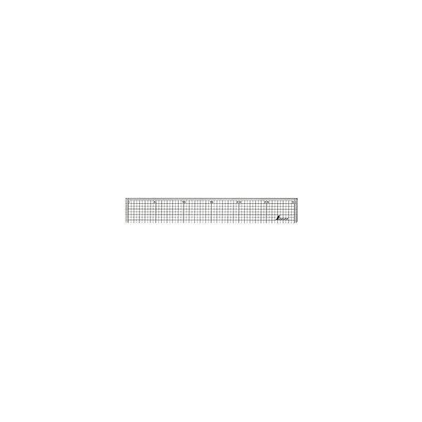 シンワ測定 シンワ測定 方眼直定規アクリル30 A764-77089