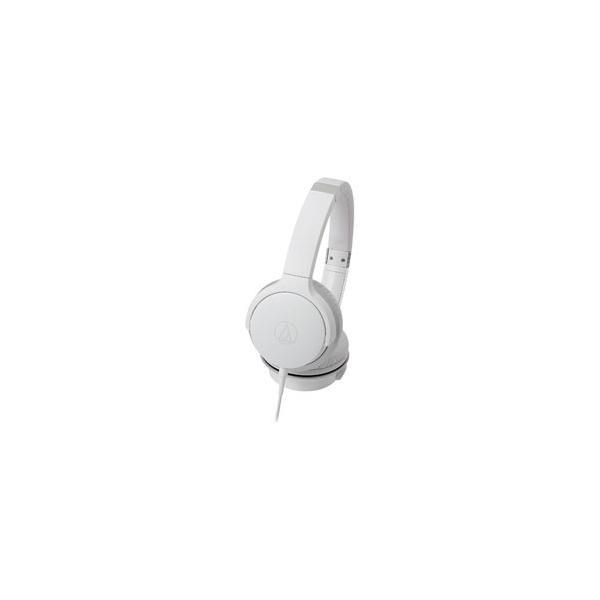 オーディオテクニカ ポータブルヘッドホン高音質タイプ ATH-AR3 WH ホワイトの画像