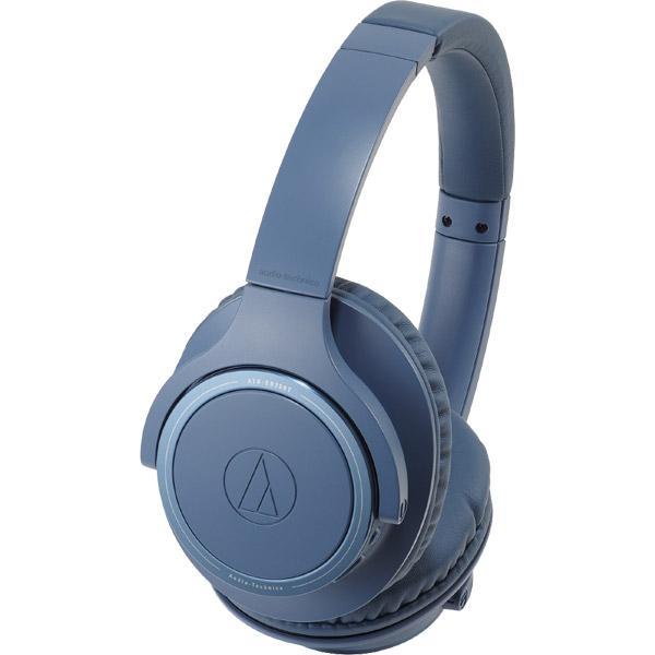 オーディオテクニカ Bluetoothヘッドホン ATH-SR30BT BL ブルー