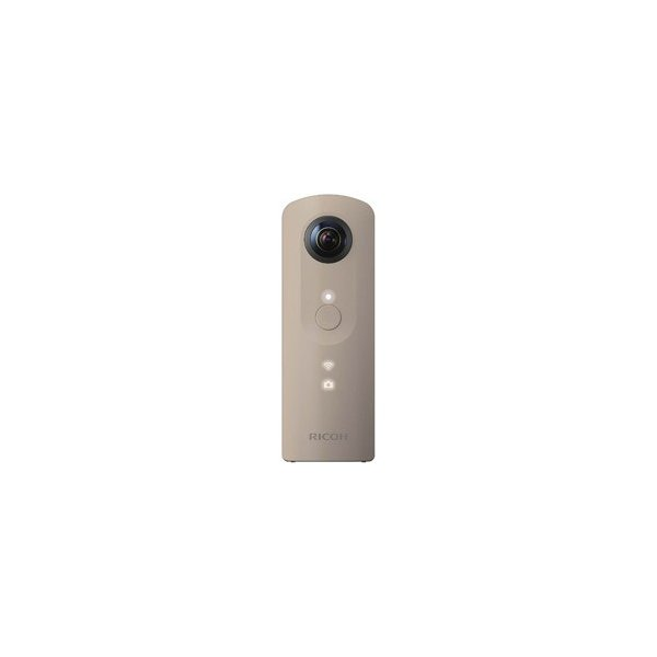 リコー RICOH THETA SC(シータ)動画撮影対応モデル/ベージュ 【全天球画像撮影コンパクトデジタルカメラ】