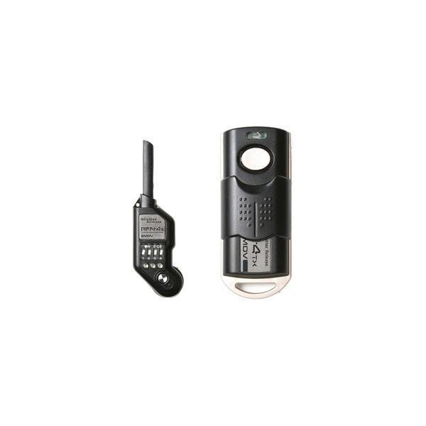 SMDV ワイヤレスシャッターレリーズセット RFN-4S Kit(ニコン(Nikon) D4、D800他対応 ボディに装着可能タイプ)
