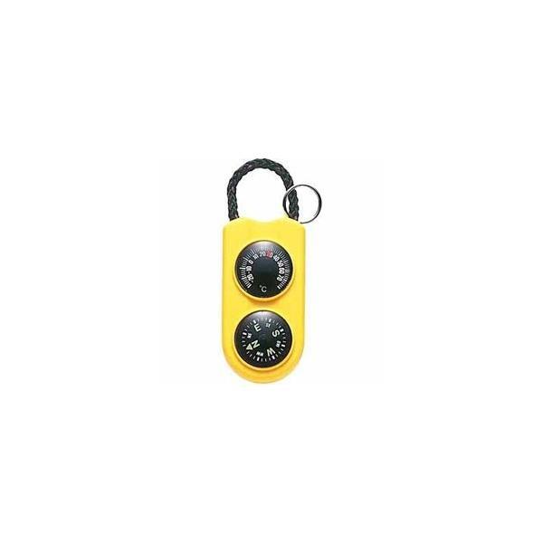 エンペックス 温度計 「サーモ&コンパス」 FG-5124(イエロー)