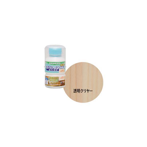 ニッペホームプロダクツ 【ワシンペイント】 W水性ウレタンニス(透明) 130ml