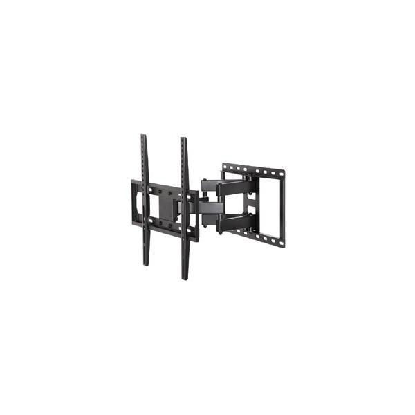 朝日木材加工 ウォールフィットマウント 推奨テレビサイズ 26〜55V FLM-002-BK ブラック