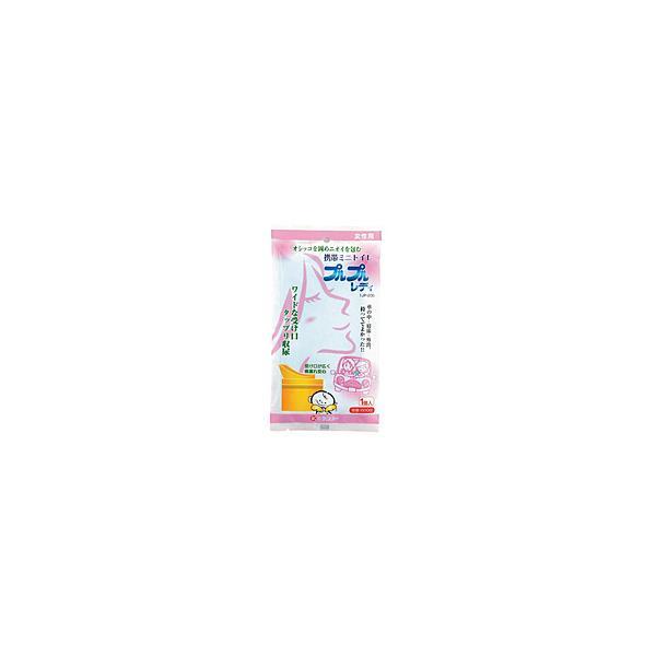ケンユー 1JP-200 オシッコを固め臭いを包む 携帯トイレ プルプルレディ 1個入(女性用プルプル)