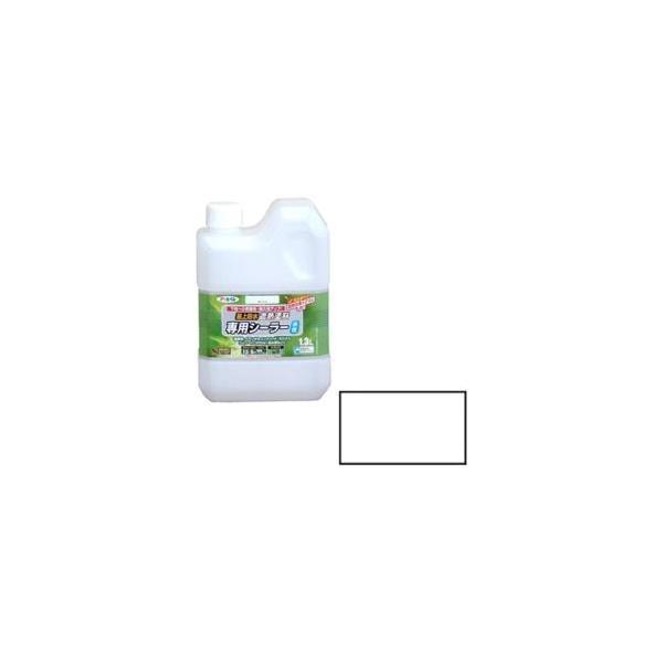 アサヒペン 水性屋上防水遮熱塗料用シーラー 1.3L (ホワイト)