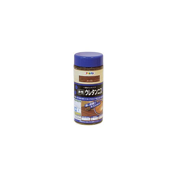 アサヒペン アサヒペン 水性ウレタンニス 300ML メープル 447593