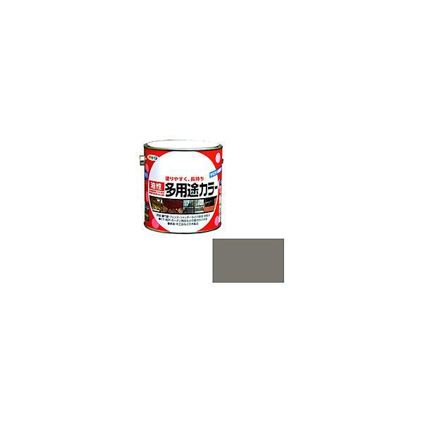 アサヒペン アサヒペン 油性多用途カラー 0.7L グレー