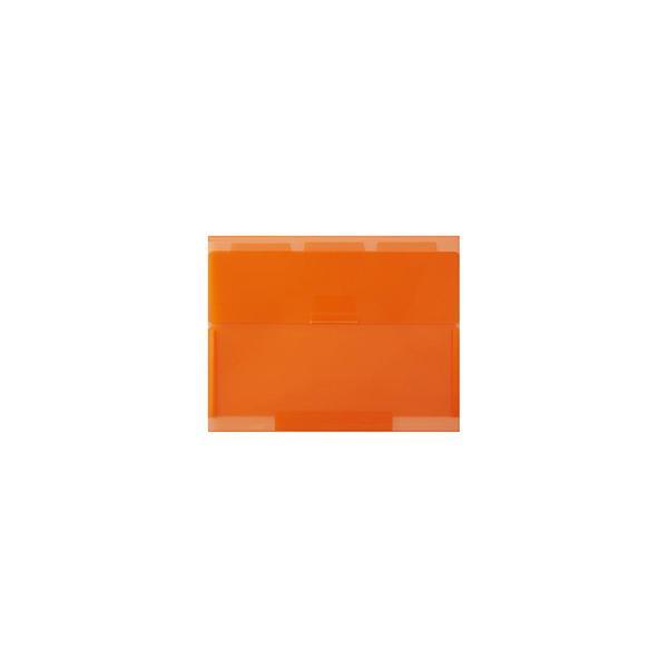 セキセイ NE-5435 ネオンワン ルーズリーフケースB5 オレンジ