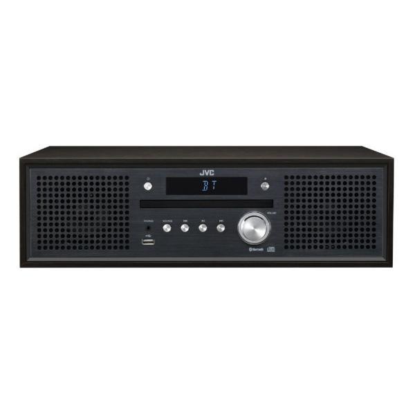 JVCケンウッド コンパクトコンポーネントシステム NX-W31 ブラック [ワイドFM対応 /Bluetooth対応] 【ビックカメラグループオリジナル】