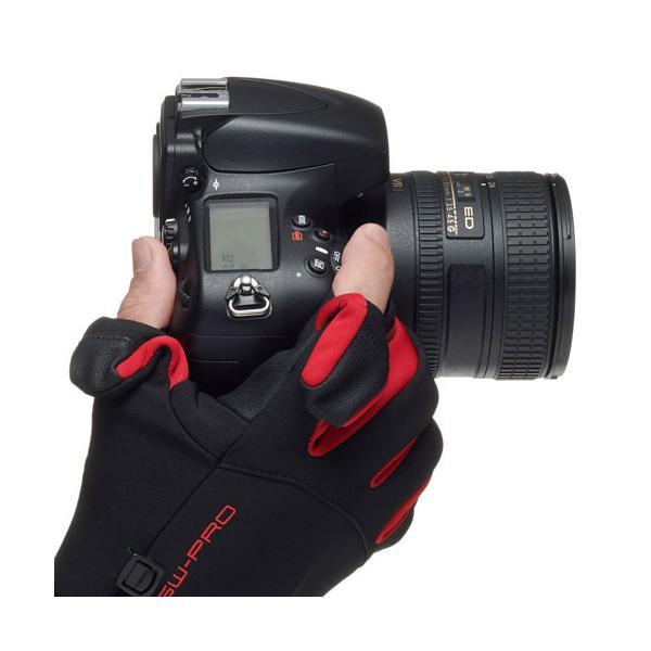 ハクバ写真産業 GW-PRO RED フォトグローブプロ L レッド KPG-GWR-PLRD レッド