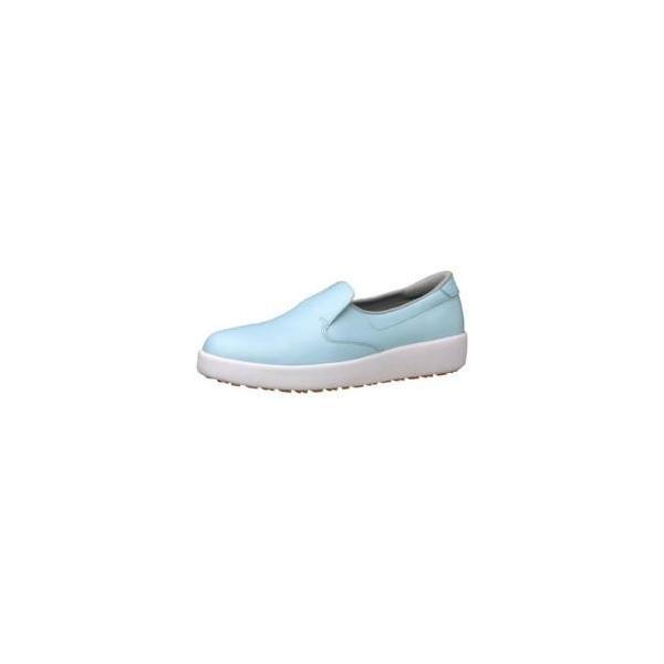 ミドリ安全 ミドリ安全 ハイグリップ作業靴H-700N 24cm ブルー <SKT4323>