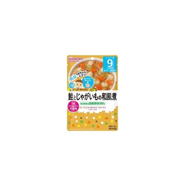 アサヒグループ食品 【グーグーキッチン】鮭とじゃがいもの和風煮(80g)〔離乳食・ベビーフード 〕 [振込不可]
